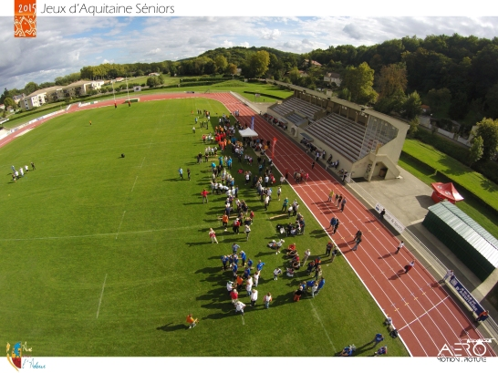 Jeux d'Aquitaine Séniors DRONE & SPORT EN AQUITAINE