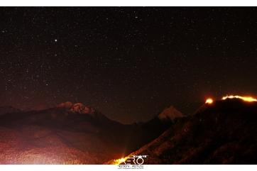 Hautes-Pyrénées -Saint Lary DRONE. Les montagnes de nuit avec Aéro Motion Picture / vidéos & photographies par DRONE