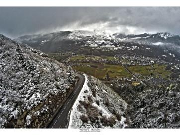 Hautes-Pyrénées -Saint Lary DRONE. Les montagnes de nuit avec Aéro Motion Picture / vidéos photographies par DRONE