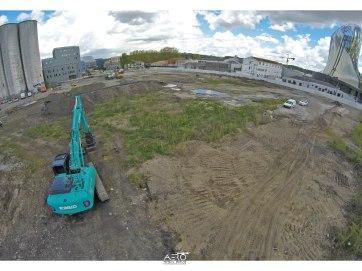 Suivi de chantier par DRONE Aquitaine - Gironde - Lot et Garonne - Landes - Dordogne - Pyrénées Atlantiques