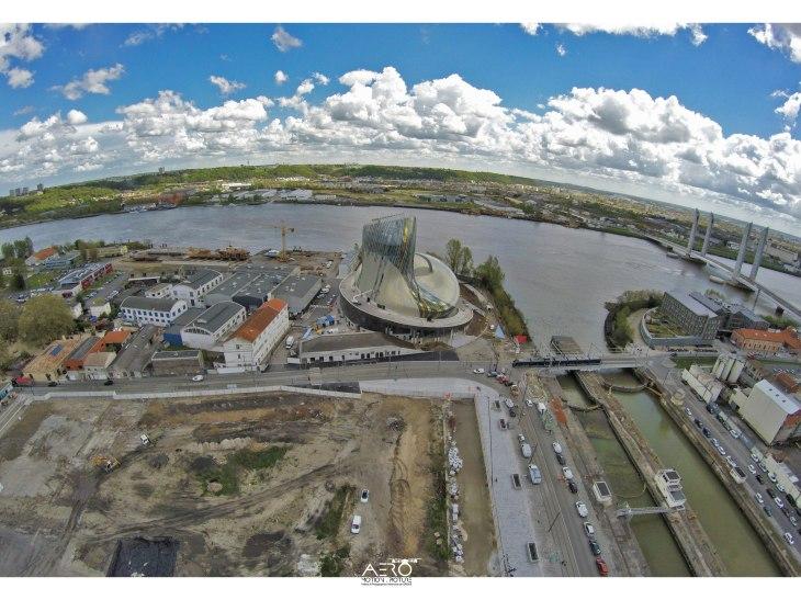 Suivi de chantier par DRONE Aquitaine - Gironde - Lot et Garonne - Landes - Dordogne - Pyrénées Atlantiques.